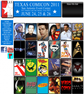 Texas Comic Con Website