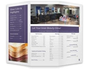 Glow Tri-Fold Brochure Graphic Design
