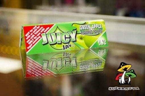 Green Apple Juicy Jay Rolling Papers