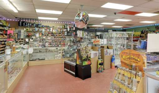Photo of the interior of Supernova Smoke Shop #1