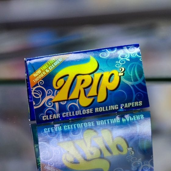 Trip 2 Clear Cellulose Rolling Papers