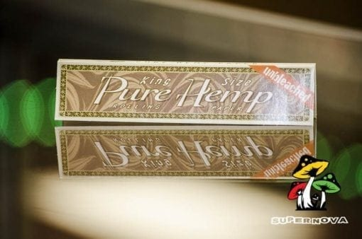 Pure Hemp King Size Unbleached Rolling Papers