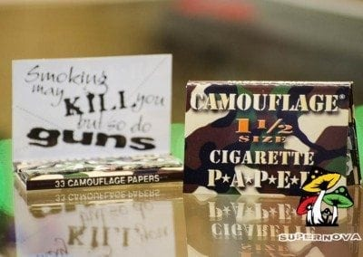 Camoflauge Rolling papers