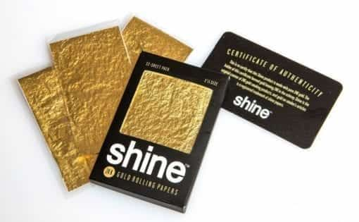 TYGA 24K Gold Shine Rolling Papers