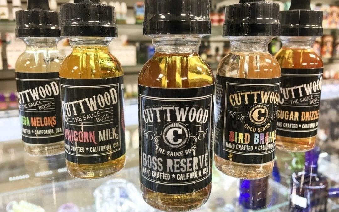Cuttwood E-Liquids at Supernova Smoke Shop