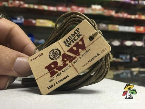Photograph of RAW 4 Meter Hemp Wick