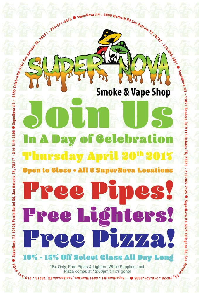 The SuperNova 420 Party on April 20th, 2017