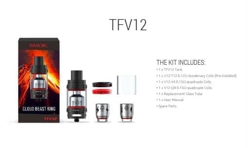 Smok TFV12 Kit Photo