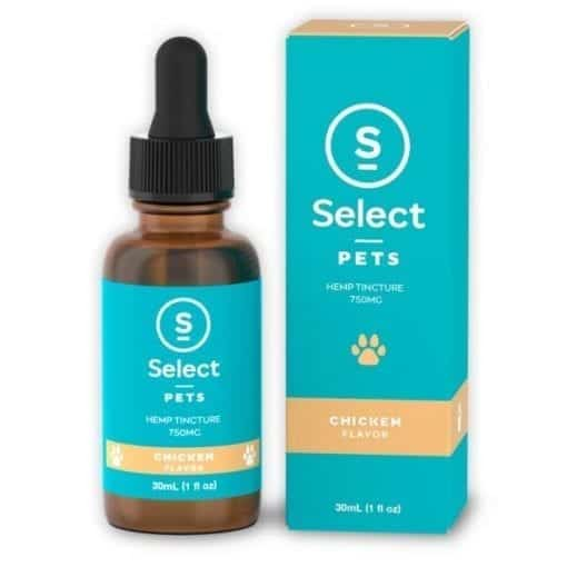 Chicken Flavored Select CBD Brand Pet CBD Tincture