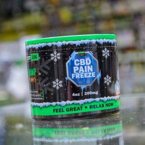 Hemp Bomb CBD Pain Freeze 4ox 200mg