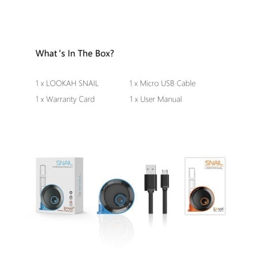 Lookah Snail - What's In The Box