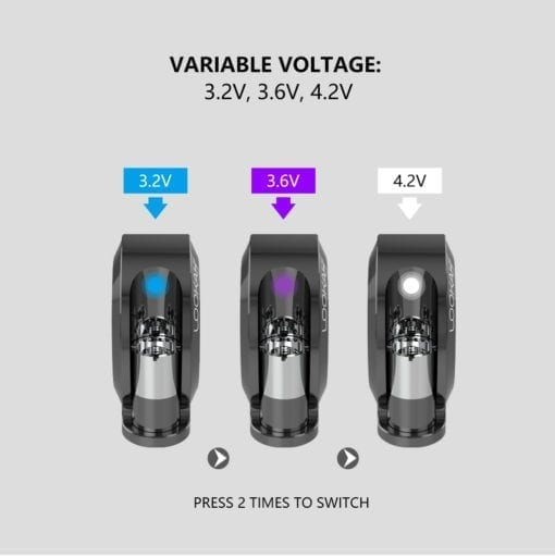 Lookah Snail Variable Voltage