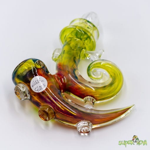 Handpipe by Blissful Glass