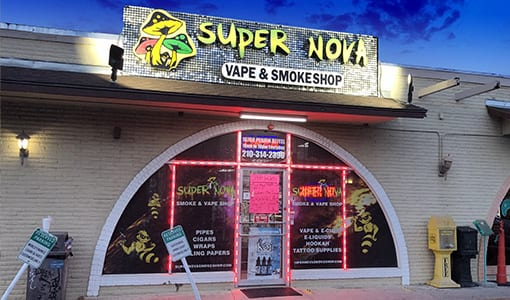 SuperNova Smoke Shop #2 on Perrin Beitel Rd