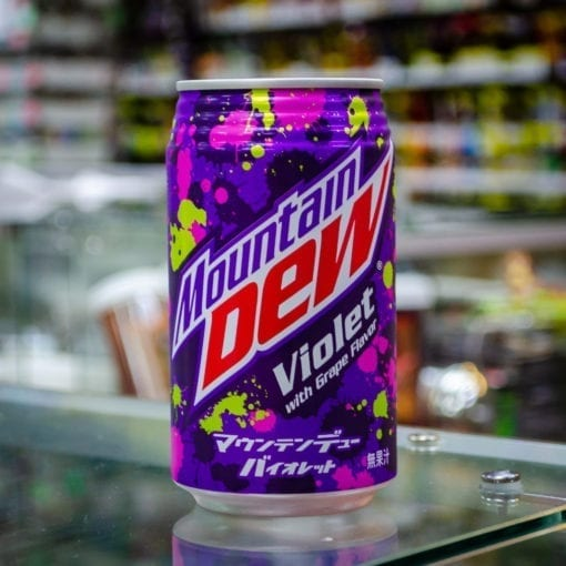 Mountain Dew Violet 12oz Can