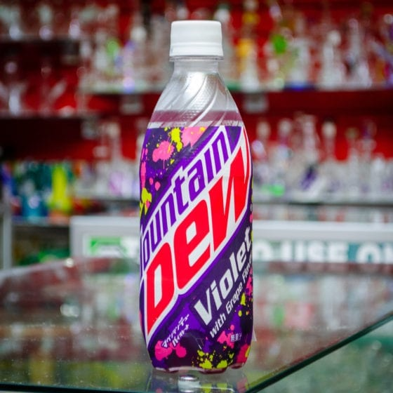 Mountain Dew Violet 490ml Bottle