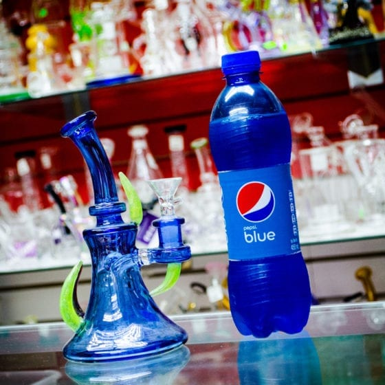 Pepsi Blue Exotic Soda