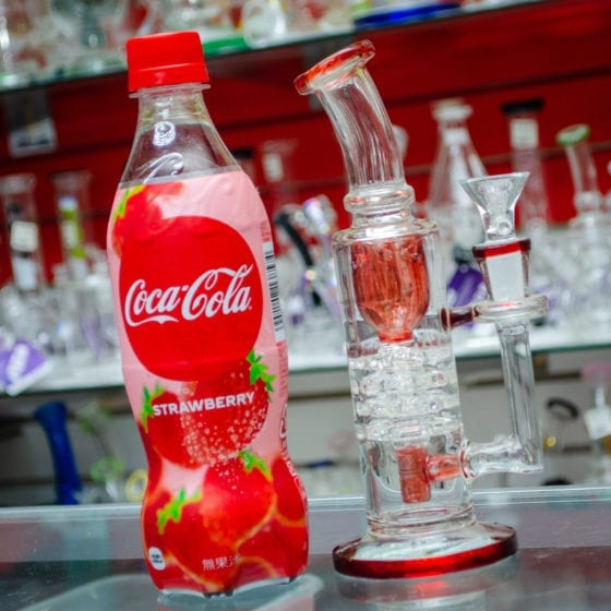 Strawberry Coca Cola Exotic Soda