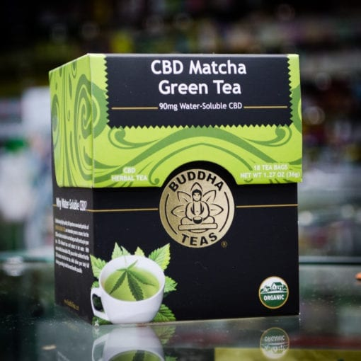 CBD Matcha Green Tea by Buddha Teas