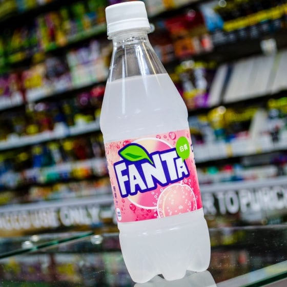 White Peach Fanta Exotic Soda