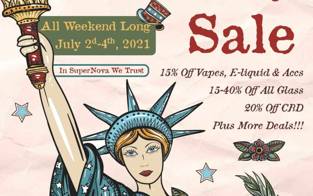 4th of July – Independence Day Sale