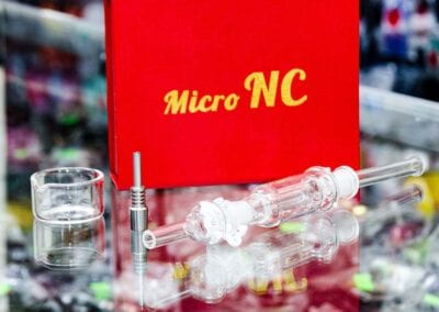 Mico NC Nectar Collector Kits with Dish and Titanium Tip.